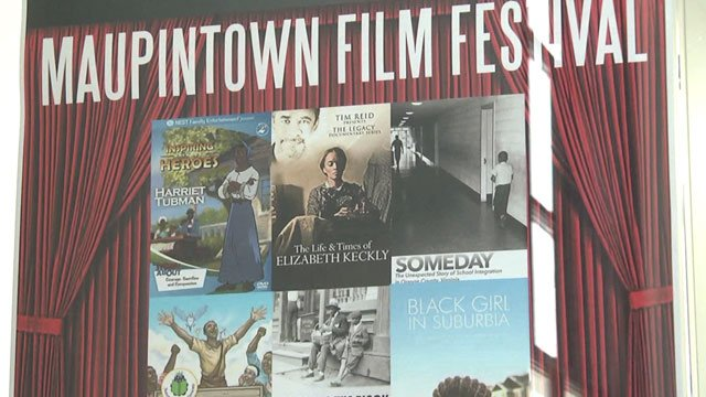 Poster for the Maupintown Film Festival