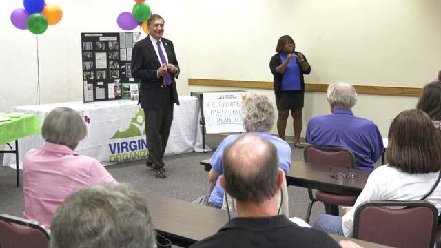 Virginia Organizing celebrated the Medicaid expansion on July 10