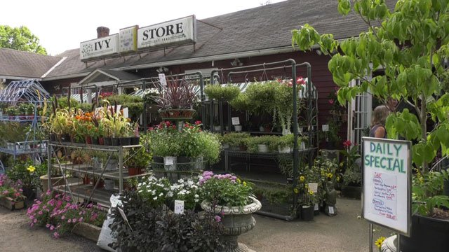 Ivy Corner Garden Center Gift Shop.