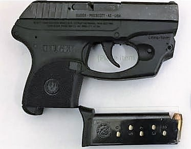 This loaded gun was detected by a TSA officer at the CHO Airport checkpoint on Wednesday, July 11th. (TSA photo)