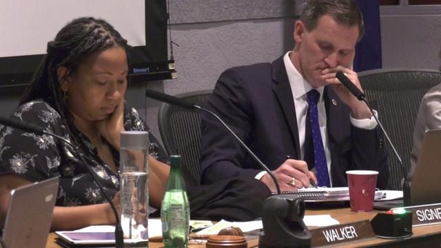 Mayor Nikuyah Walker and former-Mayor Mike Signer (FILE IMAGE)
