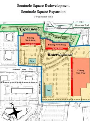 Plans for Seminole Square
