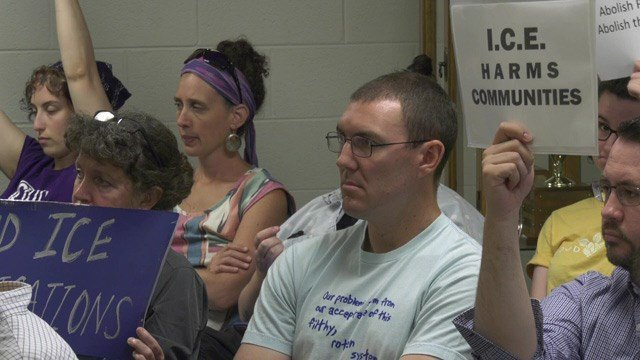 Over a dozen people were in attendance of Thursday's board meeting.