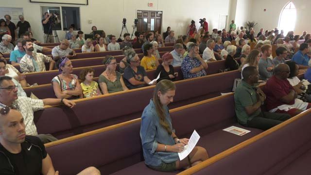 People heard from law enforcement on city plans for August 12