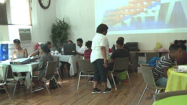 Community STEM event at the Dunbar Schoolhouse