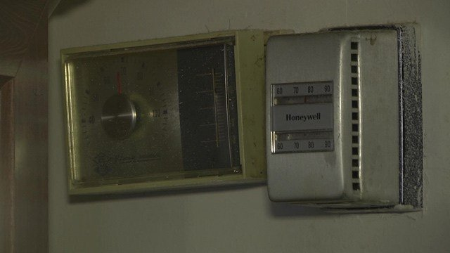 One apartment was reported to be as hot at 80 degrees.