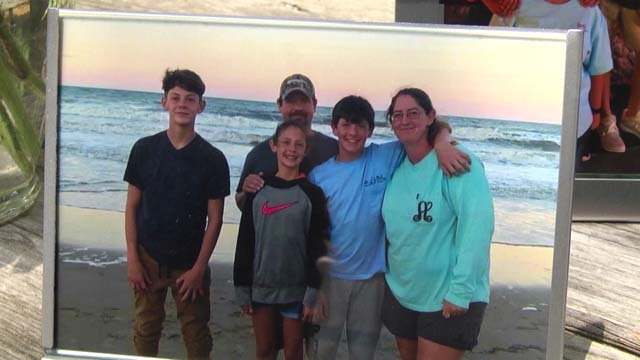 Ashley with family