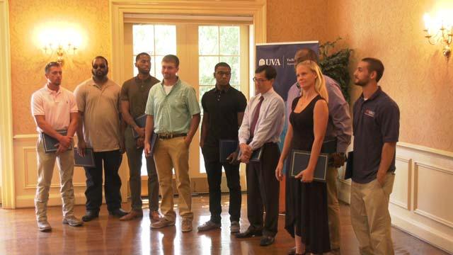 UVA graduated 10 students from the apprenticeship program