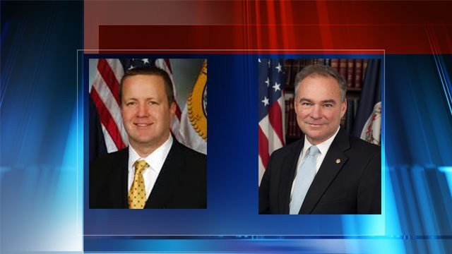 Kaine And Stewart Square Off In First Debate