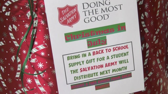 Donation drive at Great Harvest Bread Co.