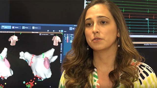 Courtney Smart, RN, electrophysiology nurse navigator.