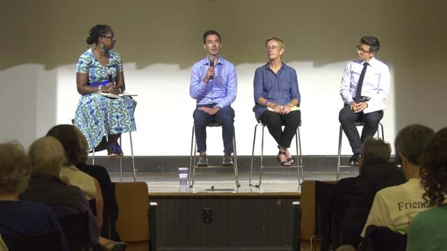 The Jefferson School hosted a panel of three lawyers on Aug. 8