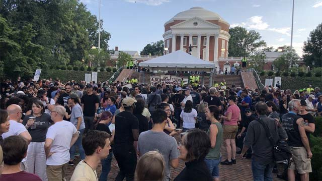 UVA protesters state demands