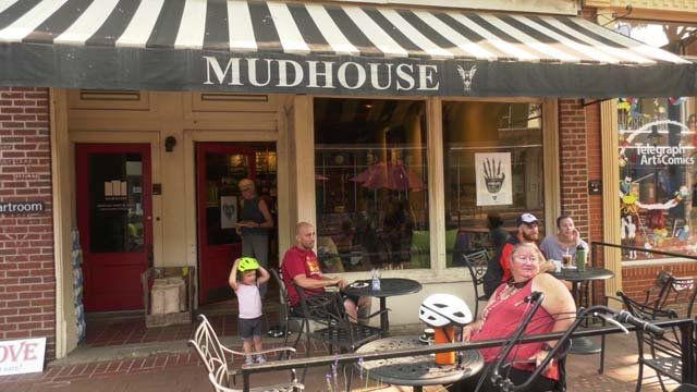 Mudhouse Coffee on the Downtown Mall