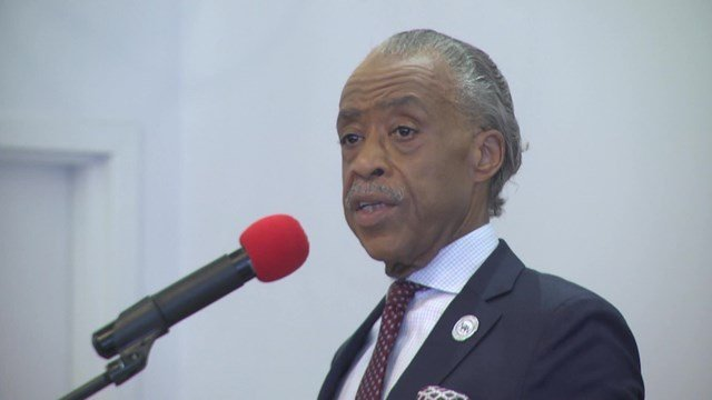 Civil Rights leader Al Sharpton came to Charlottesville on Sunday.