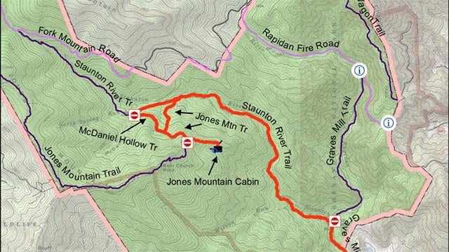 Shenandoah National Park Trail Closures