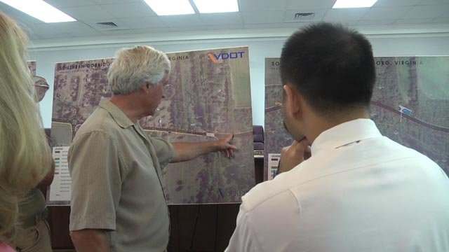 VDOT is giving people the chance to see plans for the southern corridor