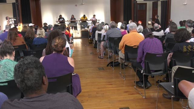 Councilors heard from the public on their thoughts from the weekend on Aug. 14