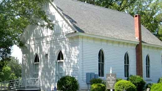 Seay's Chapel Methodist Church in Fluvanna County.