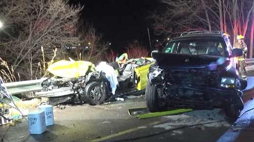 fatal car accident on route 608 in augusta