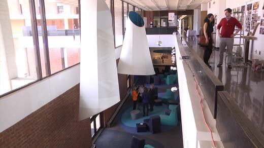 UVA Architecture School Shows off 'Sound Lounge'