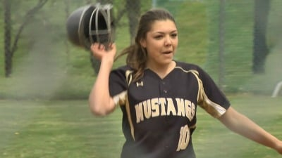 Taylor Mullins had the game-winning hit for Monticello
