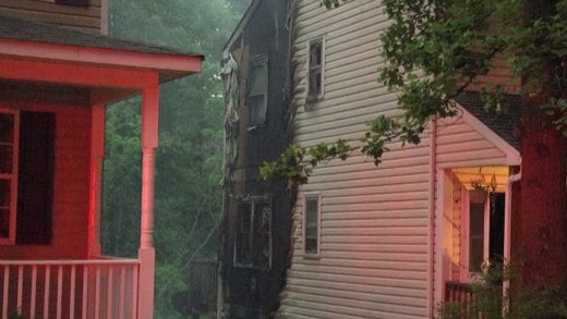 Investigators say it is too early to tell what caused the fire.