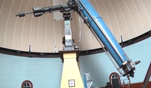 The Charlottesville Astronomical Society is hosting the public night at the McCormick Observatory