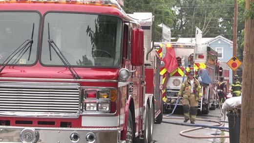 Crews on scene at West Street