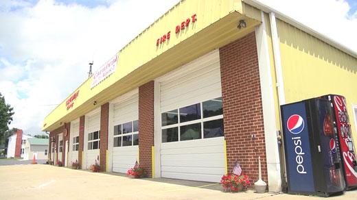 Churchville fire station