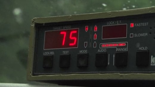 The majority of tickets that are distributed over the holiday weekend are for speeding.