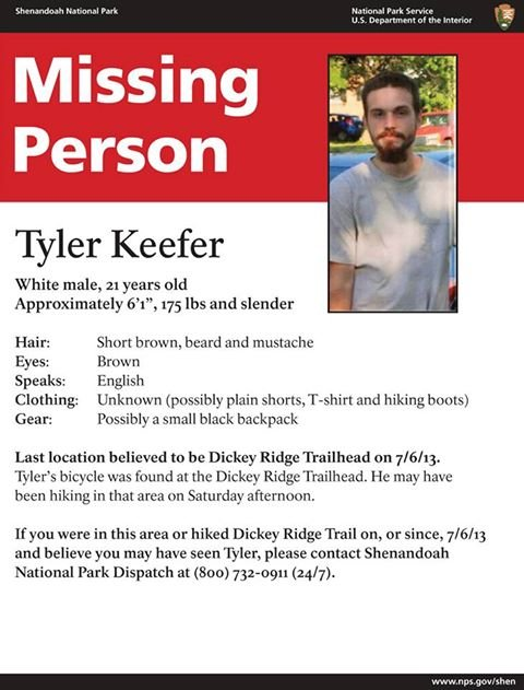 Search Underway in Shenandoah National Park for Missing ...