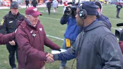 Frank Beamer and Mike London