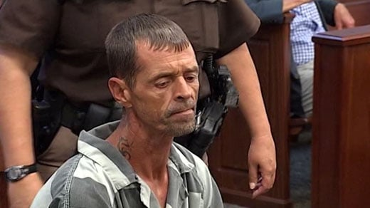 Randy Taylor, charged with abduction in connection to the disappearance of Alexis Murphy