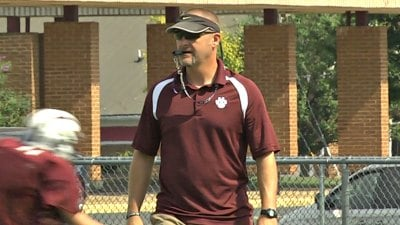 Stuarts Draft Head Coach Rod Bowers