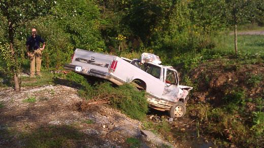 Stolen truck Cash was driving