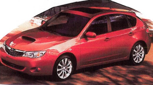 Burns was last seen with this 2009 Subaru Impreza with Virginia tag XST-7175.