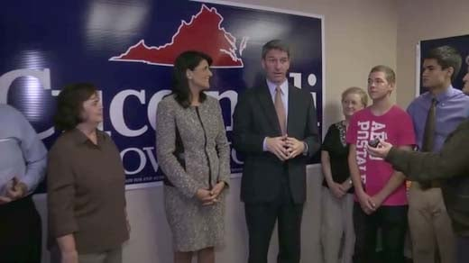 Nikki Haley and Ken Cuccinelli