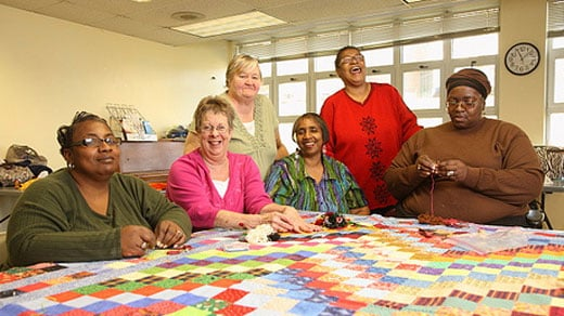 Crescent Hall Quilters, photo courtesy of charlottesvillearts.org
