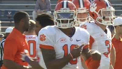Tajh Boyd and Clemson had 610 yards of total offense