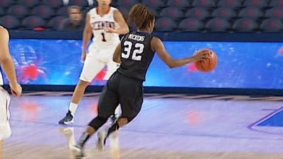 Angela Mickens had 11 points, 9 rebounds, and 8 assists