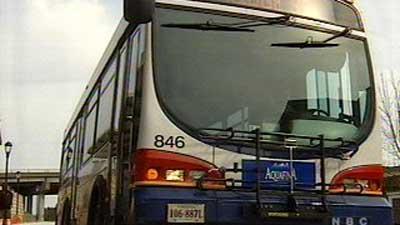 Charlottesville Area Transit bus
