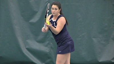 Maci Epstein won her match 6-1, 6-4