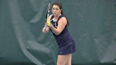 Maci Epstein won her match 6-1, 6-4