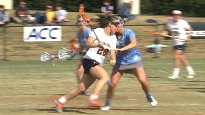Casey Bocklet scored three goals for UVa