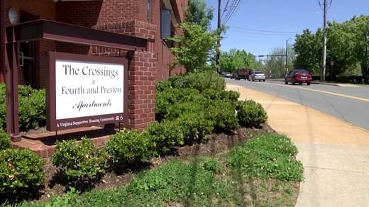The Crossings apartment complex