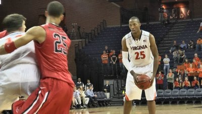Akil Mitchell led UVa in rebounding last season