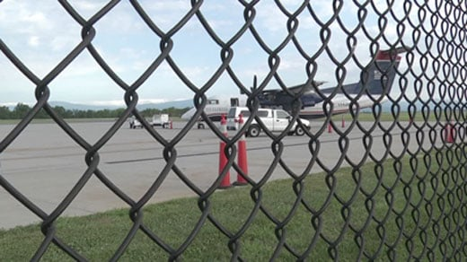 U.S. Airways flight landed safely at CHO following an emergency landing