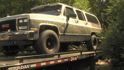 FBI released photo of Taylor's truck