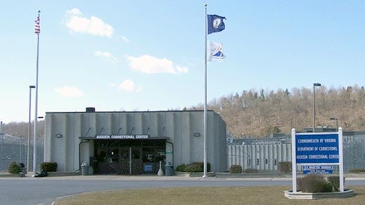 Augusta Correctional Center.  Photo courtesy of the Virginia Department of Labor and Industry.